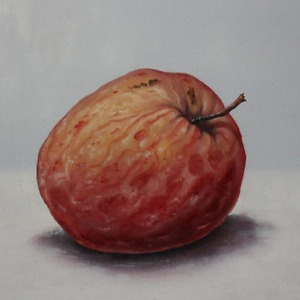 Painting of an old apple by ukopost